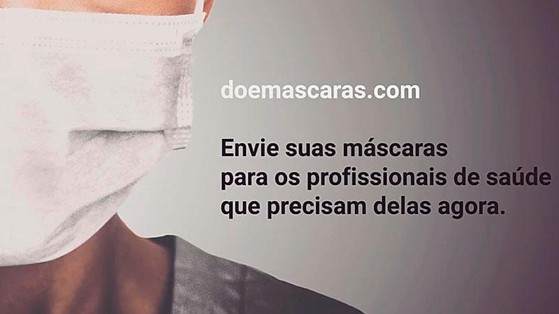 Conectando pessoas físicas, profissionais e hospitais, a iniciativa da Fábrica de Startups permite doar máscaras para profissionais de saúde.