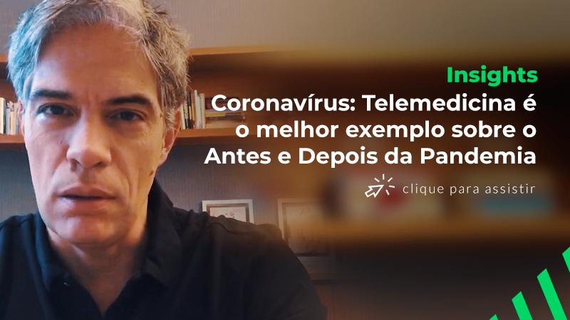 Ricardo Amorim   Coronavírus: Telemedicina é o melhor exemplo sobre o Antes e Depois da Pandemia
